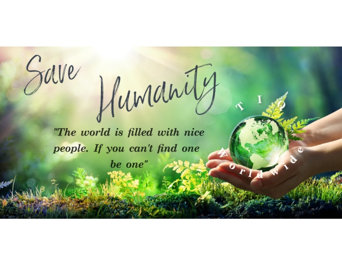 savehumanity